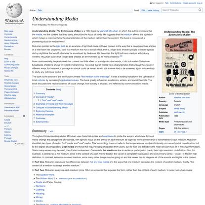 Understanding Media - Wikipedia