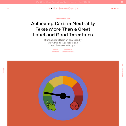 Achieving Carbon Neutrality Takes More Than a Great Label and Good Intentions