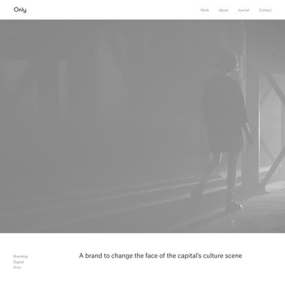 Printworks London — Only Studio