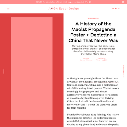 A History of the Maoist Propaganda Poster + Depicting a China That Never Was