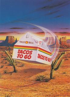 Jeff Wack, Taco Bell