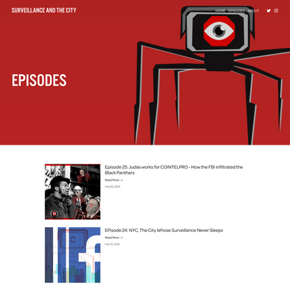 Episodes — Surveillance and the City