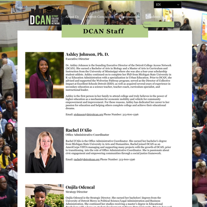 Our Staff | DCAN