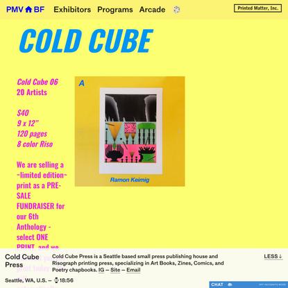 PMVABF | Cold Cube Press