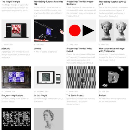 Processing-Tutorial: Kinetic Typography 1 • tim rodenbröker creative coding