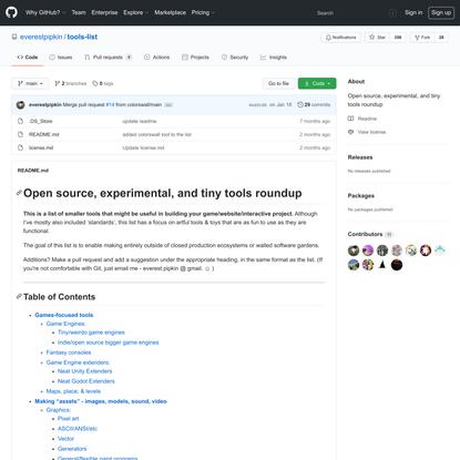 everestpipkin/tools-list