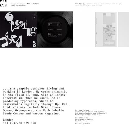 Design Practice of Kia Tasbihgou