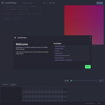 smoothstep.io - animation toolkit