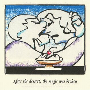 After The Dessert The Magic Was Broken, by s.hum