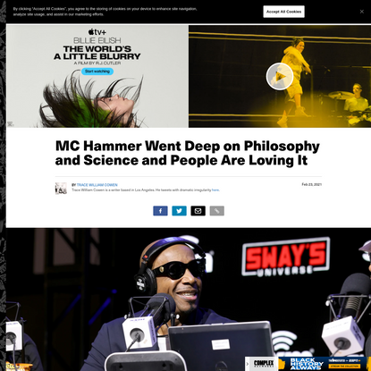 MC Hammer Went Deep on Philosophy and Science and People Are Loving It | Complex
