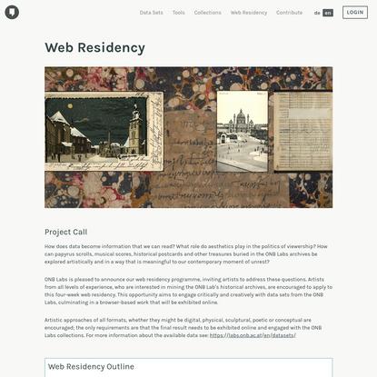 Web Residency