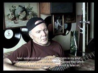 The Rock-Monoloque. Youri Morozov. Vladimir Kozlov's film