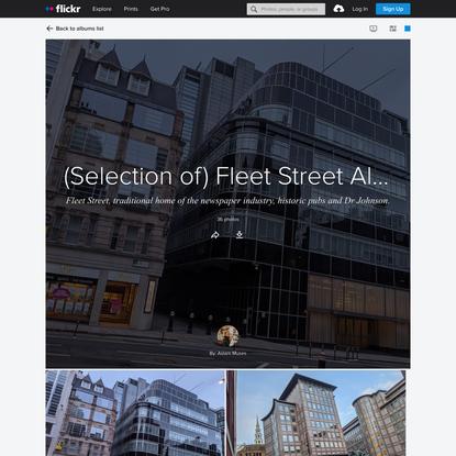 (Selection of) Fleet Street Alleys - EC4