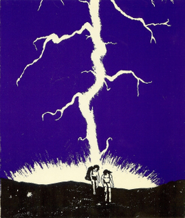 Cover of To the Lightning by Catherine Ennis, 1988.