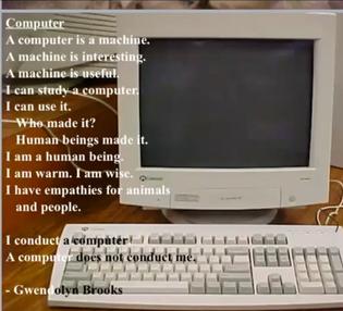 Computer by Gwendolyn Brooks