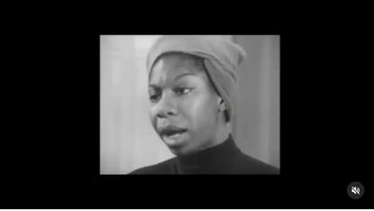 Nina Simone on unapologetically being