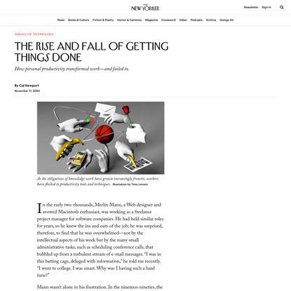 The Rise and Fall of Getting Things Done