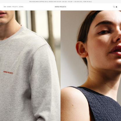 Norse Projects — CREATED FOR LIFE — GOOD FOR ALL SEASONS