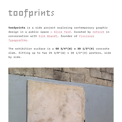 toofprints
