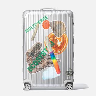 RIMOWA—Limited Edition Olafur Eliasson Sticker Box
