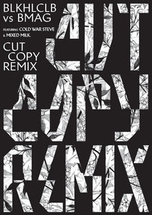 Cut Copy Remix flyer front.