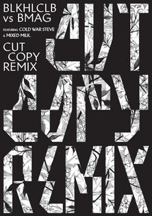 Cut Copy Remix flyer front.