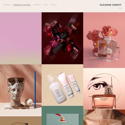 Commercial + Editorial — Suzanne Saroff