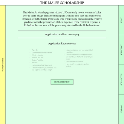 The Malee Scholarship: Application