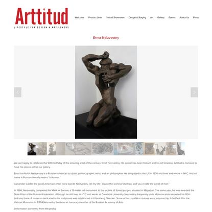 Ernst Neizvestny — Arttitud