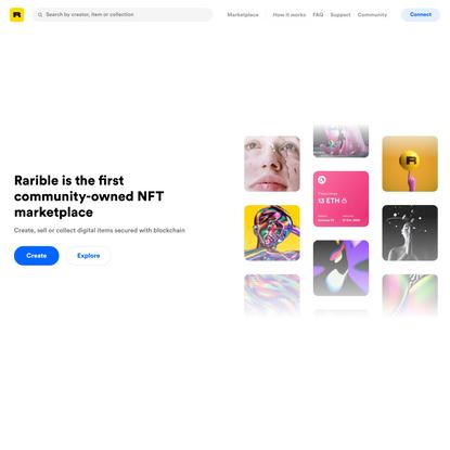 Rarible: NFT Marketplace