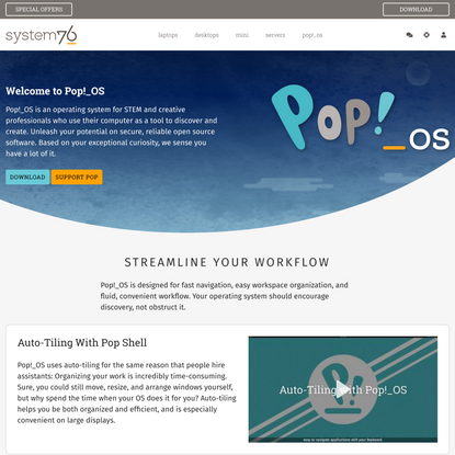 Pop!_OS by System76