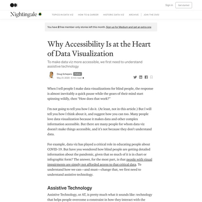 Why Accessibility Is at the Heart of Data Visualization