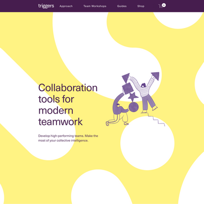 Triggers: Collaboration tools for teamwork