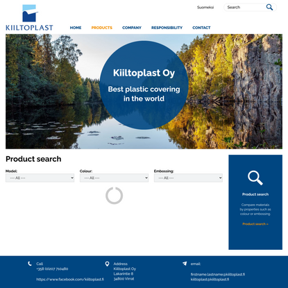 Product search | Kiiltoplast Oy