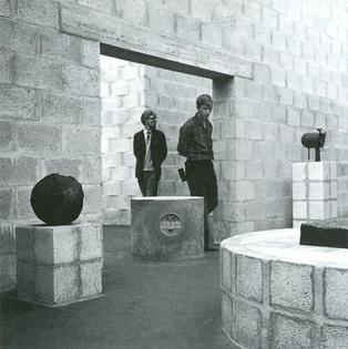 Sonsbeek Sculpture Pavilion in Arnhem by Aldo van Eyck (1966)