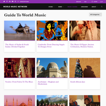 Guide To World Music