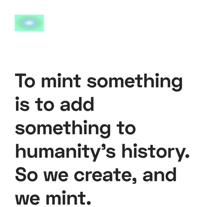 MintFund → Helping Crypto Creators Mint their first NFTs. 🍃