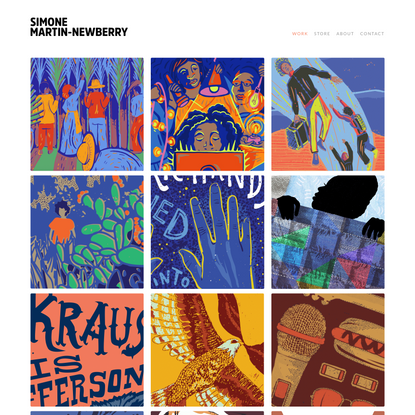 Simone Martin-Newberry - Graphic Design Portfolio