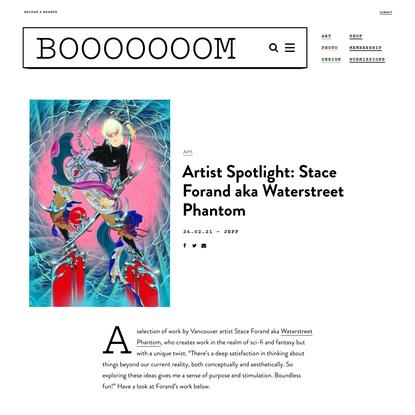 Artist Spotlight: Stace Forand aka Waterstreet Phantom