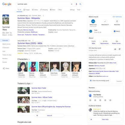 summer wars - Google Search
