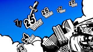 Calendar - Persona 5