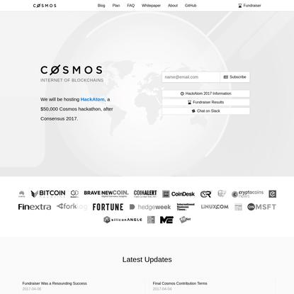 Cosmos - Internet of Blockchains