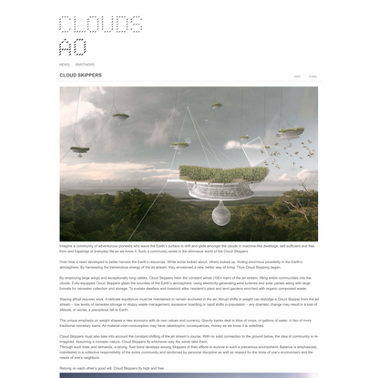 CLOUD SKIPPERS - Clouds Architecture Office