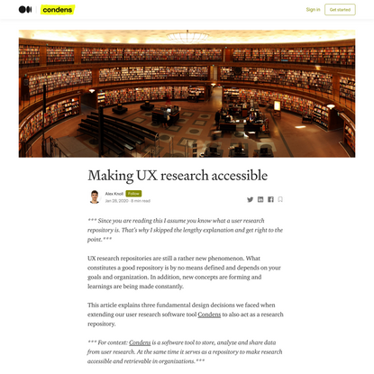Making UX research accessible
