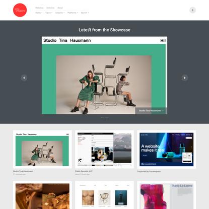Siteinspire - Web Design Inspiration