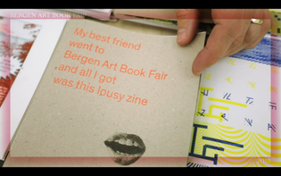 My best friend went to Bergen Art Book Fair and all I got was this lousy zine
