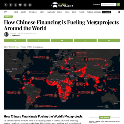 How Chinese Financing is Fueling Megaprojects Around the World