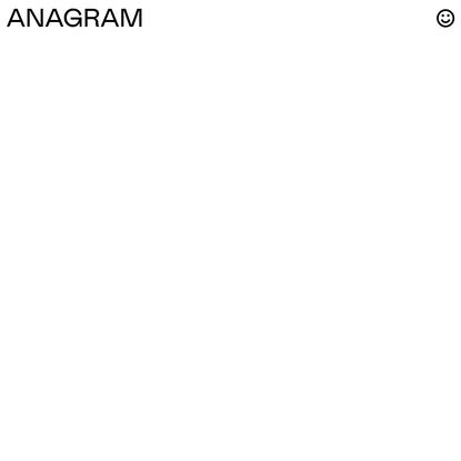 Home – ANAGRAM