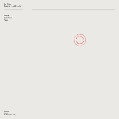 Stu Ohler – Design Director