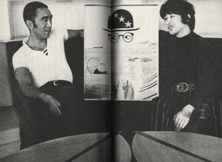 Yukio Mishima and Tadanori Yokoo